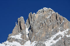 Panorama of Dolomiti Alps (Italy) Stock Photo
