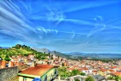 Panorama of Dorgali Stock Photos