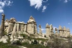 Panorama dos gigantes de pedra em Ge?rgia foto de stock
