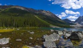 Panorama dos lagos consolation Fotos de Stock Royalty Free