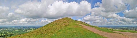 Panorama dos montes Imagem de Stock