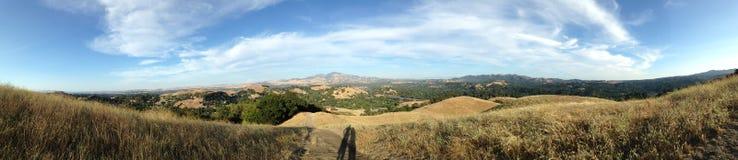 Panorama dos prados em Califórnia imagem de stock royalty free