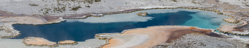 Panorama of the Doublet Pool Stock Images