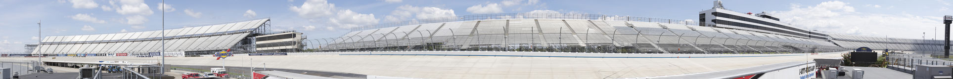 Panorama of Dover Motor Speedway royalty free stock photography