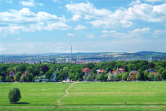 Panorama of dresden Stock Photography