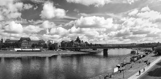 Panorama of Dresden Royalty Free Stock Photography