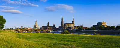Panorama Dresden Royalty Free Stock Photos