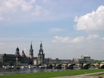 Panorama of Dresden, Germany Stock Photos