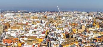 Panorama du centre historique de Séville Image libre de droits