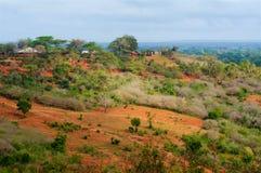 Panorama du Kenya en Afrique Images stock