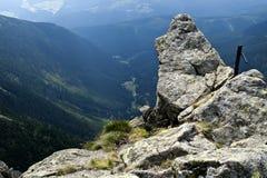Panorama du Krkonose Mts. Stationnement-Tchèque national Image libre de droits