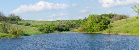 Panorama du lac Photos libres de droits