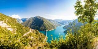 Panorama du Monténégro Photos libres de droits