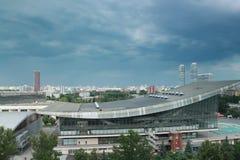 Panorama du nord-est de Moscou Images libres de droits