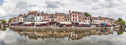 Panorama du remblai n Amiens de Belu Photographie stock