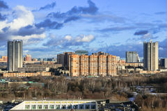 Panorama du ressort Moscou Photographie stock libre de droits