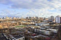 Panorama du ressort Moscou Photos stock