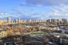 Panorama du ressort Moscou Images libres de droits