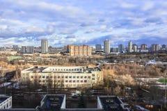 Panorama du ressort Moscou Photographie stock