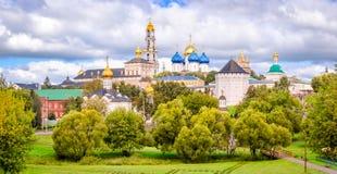 Panorama du St Sergius Lavra de trinité sainte Photos libres de droits
