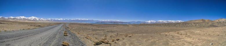 Panorama du Tadjikistan photos libres de droits