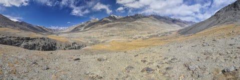 Panorama du Tadjikistan Photographie stock