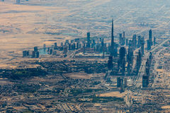 Panorama of Dubai Royalty Free Stock Photo