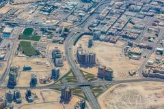 Panorama of Dubai Stock Image