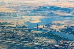 Panorama of Dubai Royalty Free Stock Photos