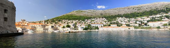 Panorama of Dubrovnik Stock Photo
