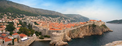 panorama dubrovnik obrazy royalty free