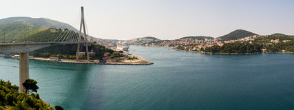 Panorama of Dubrovnik, Croatia Stock Photography