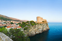 Panorama of Dubrovnik, Croatia Royalty Free Stock Image