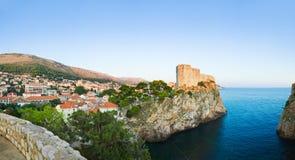 Panorama of Dubrovnik, Croatia Stock Image