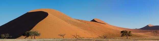 Panorama of Dune 45 Stock Photo