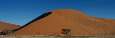 Panorama of Dune 45. Sossuvlei, Namibia Stock Photos