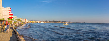 Panorama of Durres in Albania Royalty Free Stock Photos