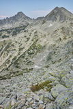 Panorama of Dzhangal and momin dvor peaks, Pirin Mountain, Bulgaria Royalty Free Stock Images