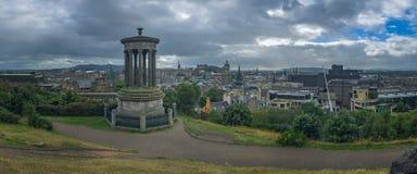 Panorama of Edinburgh Royalty Free Stock Photography