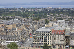 Panorama Edinburgh Royalty Free Stock Photo