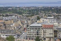 Panorama Edinburgh royalty free stock photo