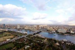 Panorama El Cairo Imagen de archivo libre de regalías