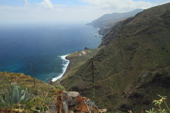 Panorama from El Tablado, La Palma, Canary Islands Royalty Free Stock Image