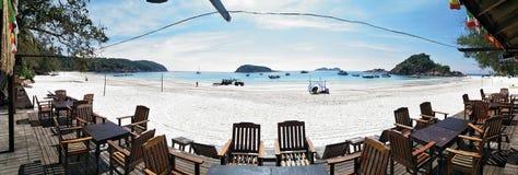 Panorama em Pulang Redang foto de stock