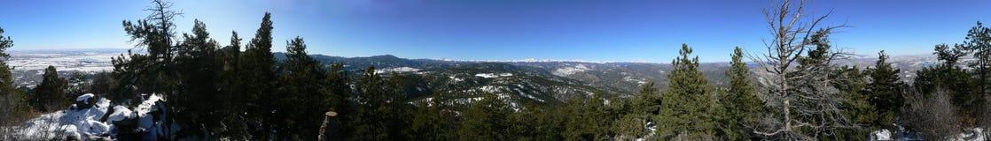 Panorama em Yellowstone Foto de Stock