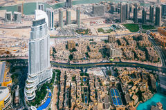 Panorama-Emirate, Abu Dhabi, UAE Stockbild
