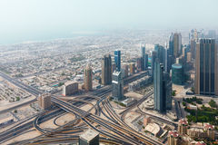 Panorama emiraty Fotografia Royalty Free