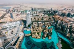 Panorama emiraty, Abu-Dhabi, UAE Zdjęcia Royalty Free