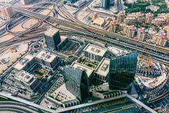 Panorama emiraty, Abu-Dhabi, UAE Fotografia Royalty Free