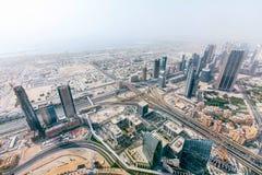 Panorama emiraty, Abu-Dhabi, UAE Fotografia Stock